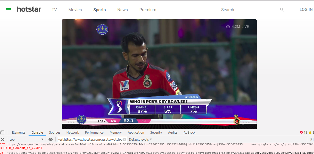 watch ipl free hotstar desktop