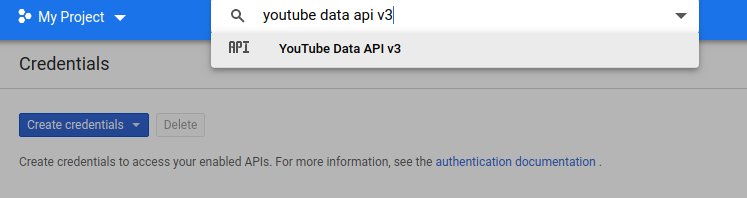 youtube data api v3 1