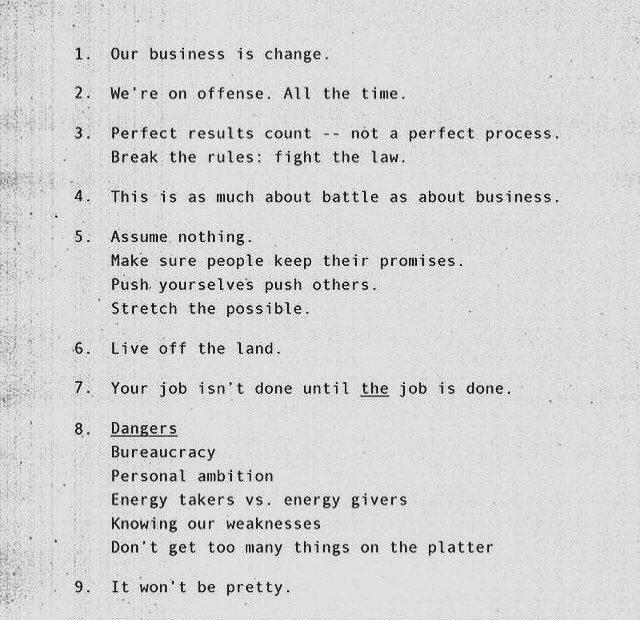 Nike Business principles