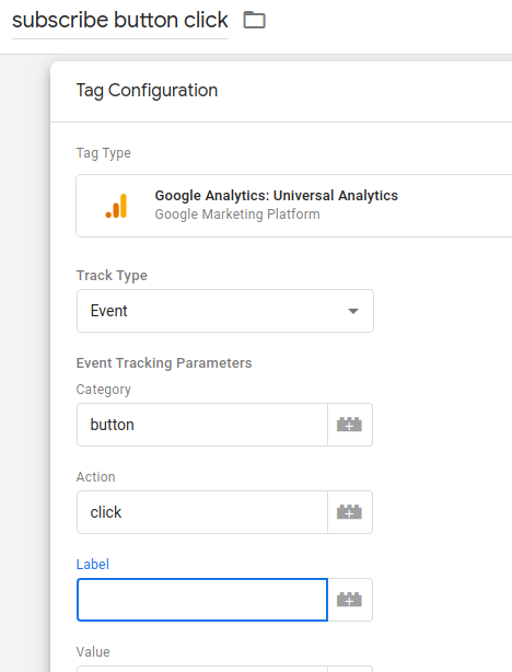 How to track button clicks using Google Tag Manager 4