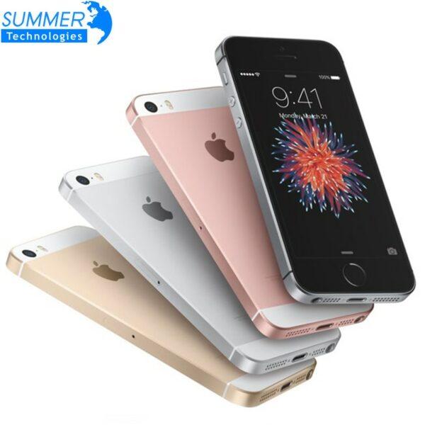 Apple iPhone SE Original Unlocked Fingerprint Mobile Phone A9 iOS 9 16/32/64GB ROM Dual Core 4G LTE 2GB RAM 4.0' Smartphone 1