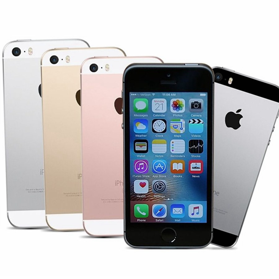 Dual-core Apple Iphone SE A1662 A1723 16GB 32GB 64GB ROM 2GB RAM Unlock Used Mobile Cell Phone 3