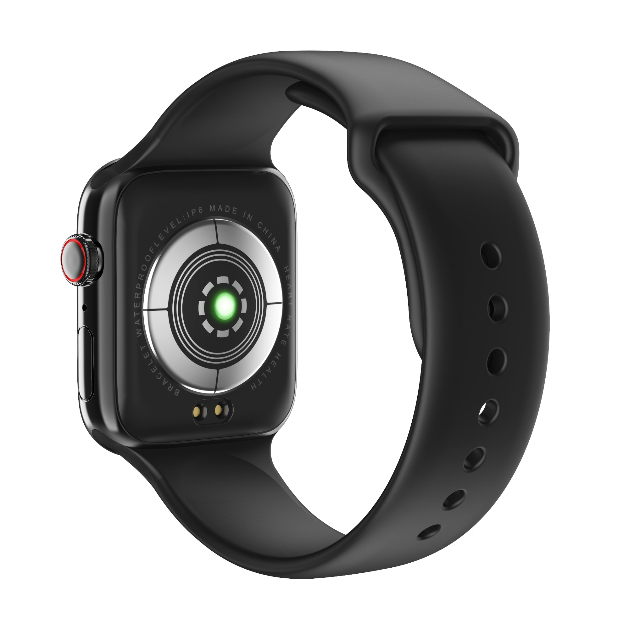 F18 men and women smart watches, fitness tracking bracelets, heart rate monitors, touch and keys, waterproof IP67 2