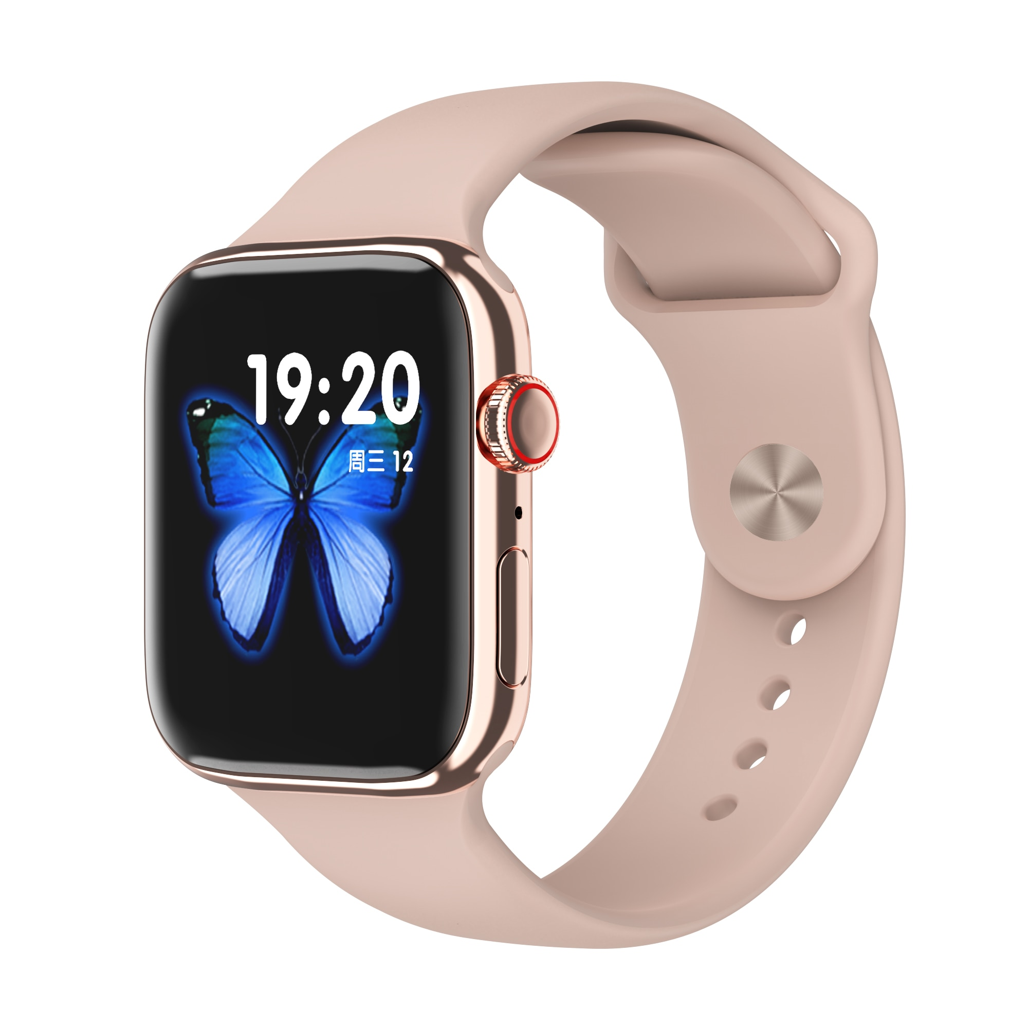 F18 men and women smart watches, fitness tracking bracelets, heart rate monitors, touch and keys, waterproof IP67 3