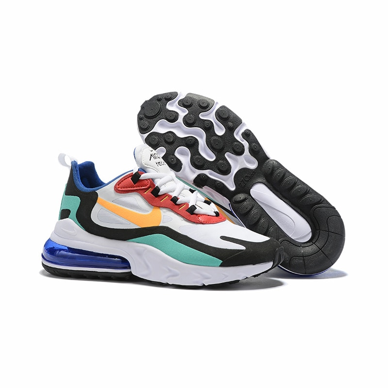 NIKE AIR MAX 270 RT (PS) Kids Shoes Original Parent-child Running Shoes Gym Sports Men Sneakers #BQ0102 3