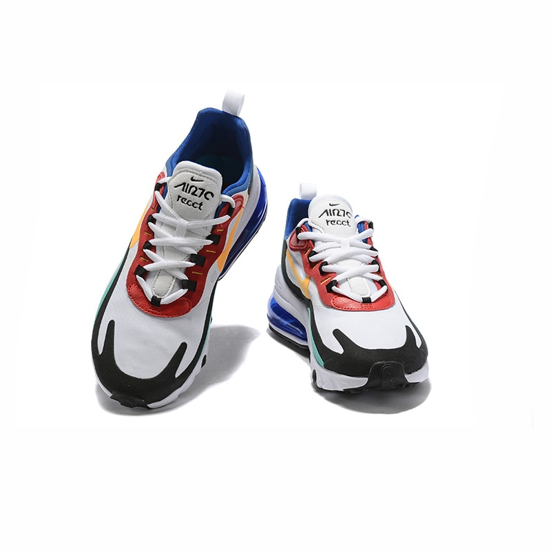 NIKE AIR MAX 270 RT (PS) Kids Shoes Original Parent-child Running Shoes Gym Sports Men Sneakers #BQ0102 4