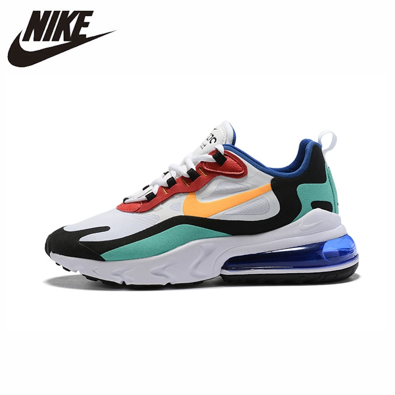 NIKE AIR MAX 270 RT (PS) Kids Shoes Original Parent-child Running Shoes Gym Sports Men Sneakers #BQ0102 1