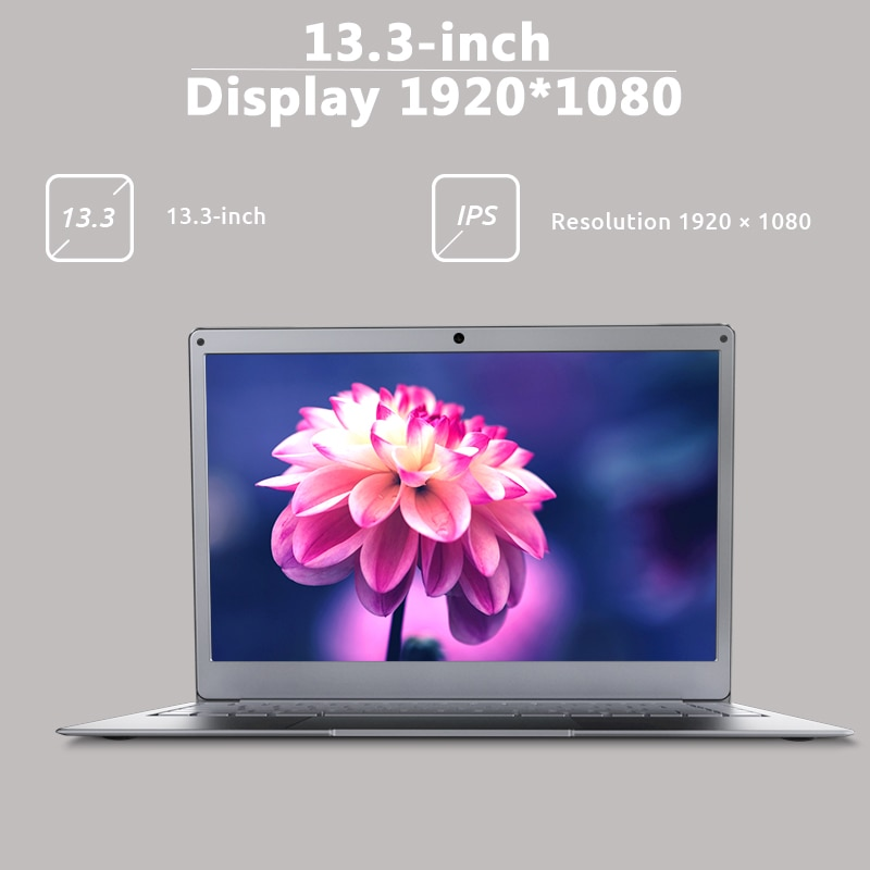 "Newest Laptop BMAX X13PLUS 13.3"" Intel Pentium Silver N5000 1920x1080 IPS Notebook 4GB RAM 64GB ROM Laptops Windows 10 Computer 2"