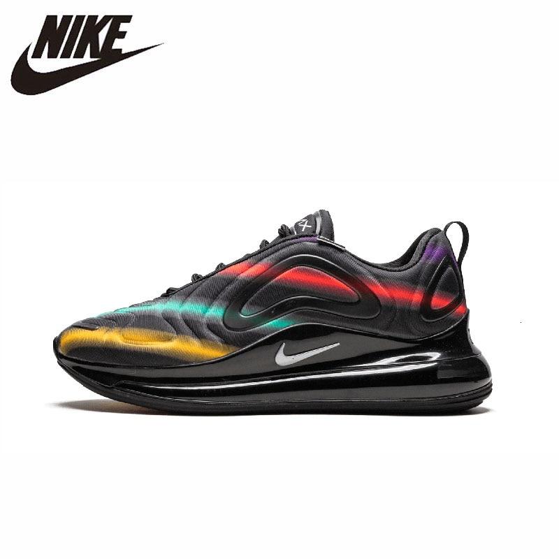 Nike Air Max 720 Parent-enfant chaussures Original homme chaussures de course coussin d'air confortable sport baskets # AO9294-400 1