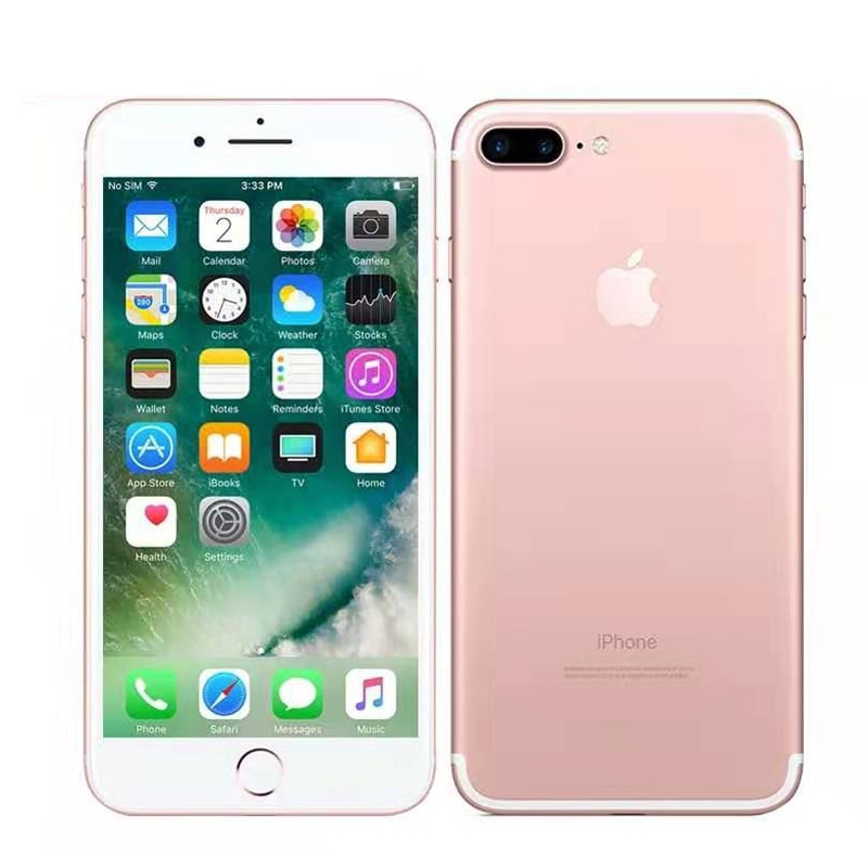Original Apple iPhone 7 plus Unlocked iPhone 7 4G LTE IOS 12.0MP 32GB/128GB/256GB ROM Fingerprint/no Fingerprint used phone 1