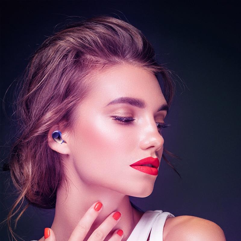 Wireless Earphones TWS Bluetooth 5.0 Mini Earbuds Stereo Bass LED Power Display Noise Cancelling Sports Waterproof Earbud In Ear 6
