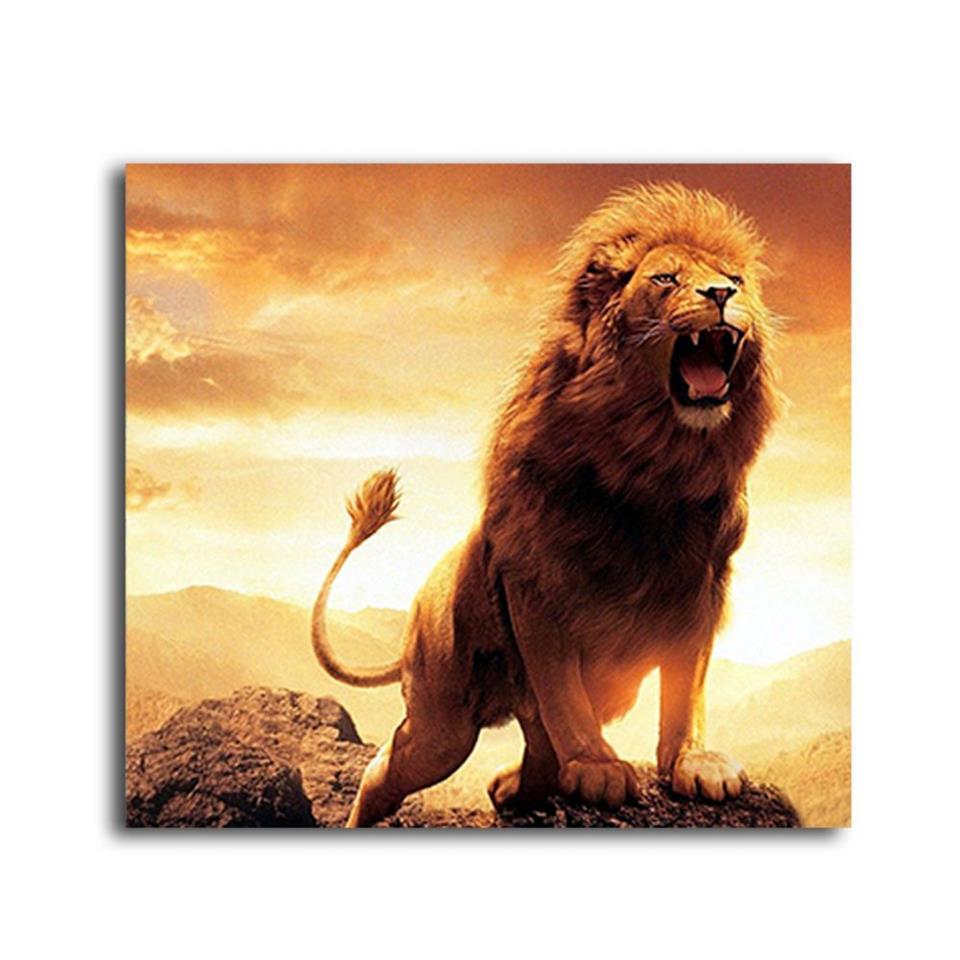 Wild Lion Painting 2