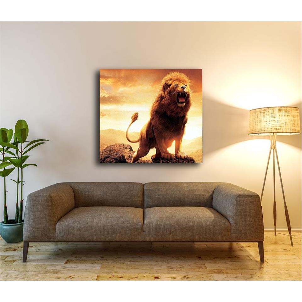 Wild Lion Painting 1
