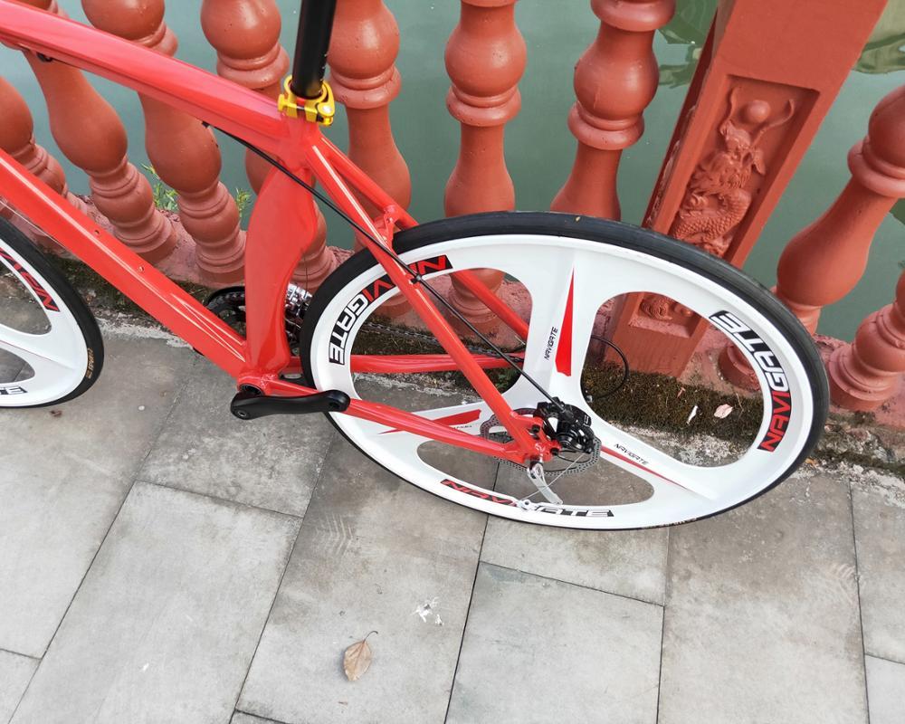24speed 700C road bicycle cycling bicicleta road bike man& woman bike Disc brakes 5