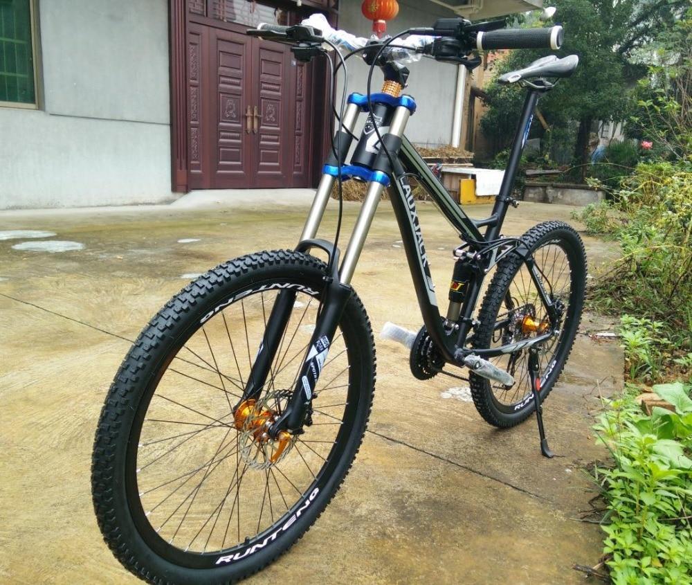 Bicicleta mountain bike 26, Tyre dirt bike ,24/27 speed full suspension ,2017 new cycling bicicleta mountain bicycle 2