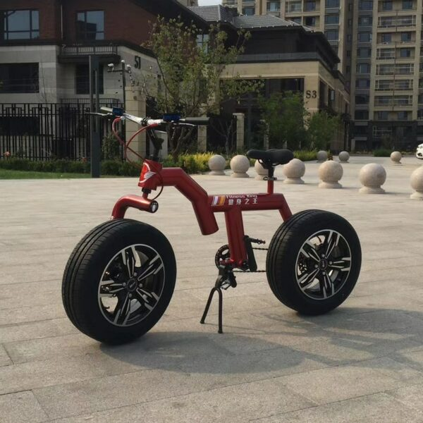 Bicycle Factory Direct Fat Tire Snow Bicycle Double disc brake aluminum alloy male and female students cycling Bicycle Unisex 2