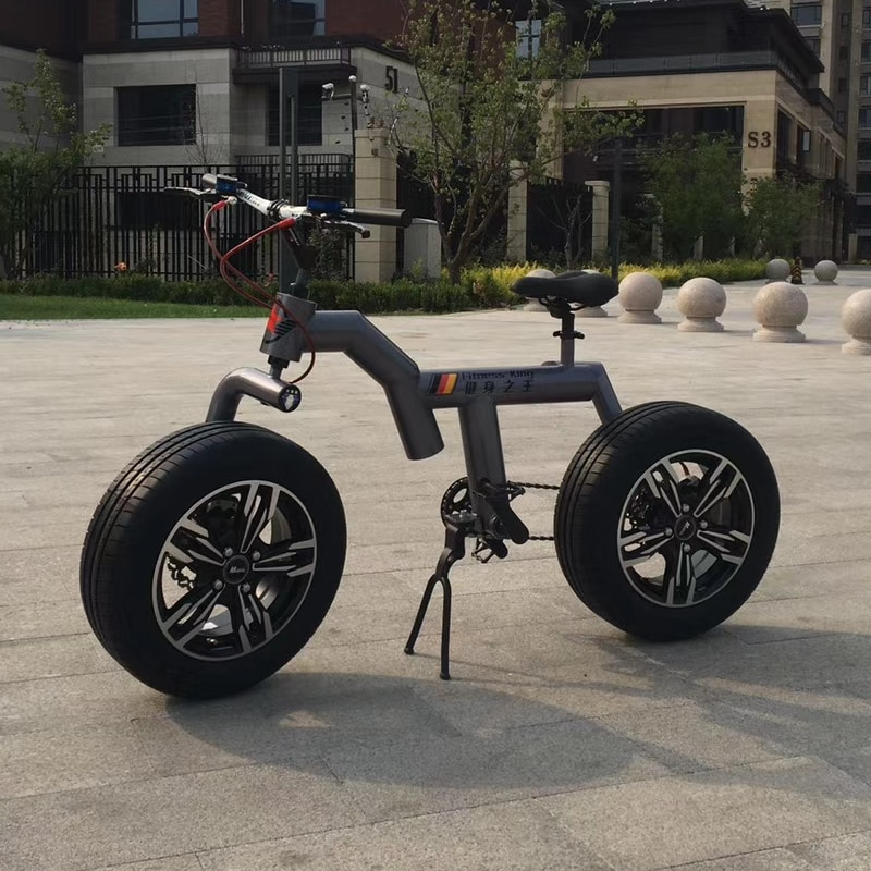Bicycle Factory Direct Fat Tire Snow Bicycle Double disc brake aluminum alloy male and female students cycling Bicycle Unisex 4
