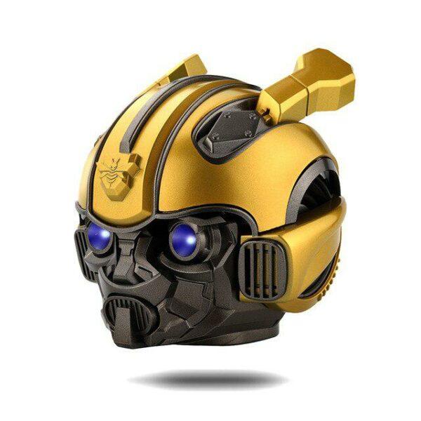 Kuulee Bumblebee Helmet Bluetooth Speaker Fm Radio Usb Mp3 TF Smart Subwoofer Bluetooth 5.0 Mini Wireless Stereo Loudspeakers 1
