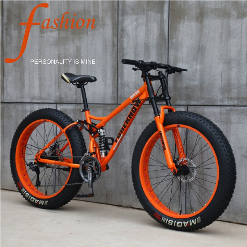 Multi-speed Cross-country 26inch Snow Bike Adult Extra wide 4.0 Large Tire Mountain Bike Male Female Cycling Students Bicycle 3