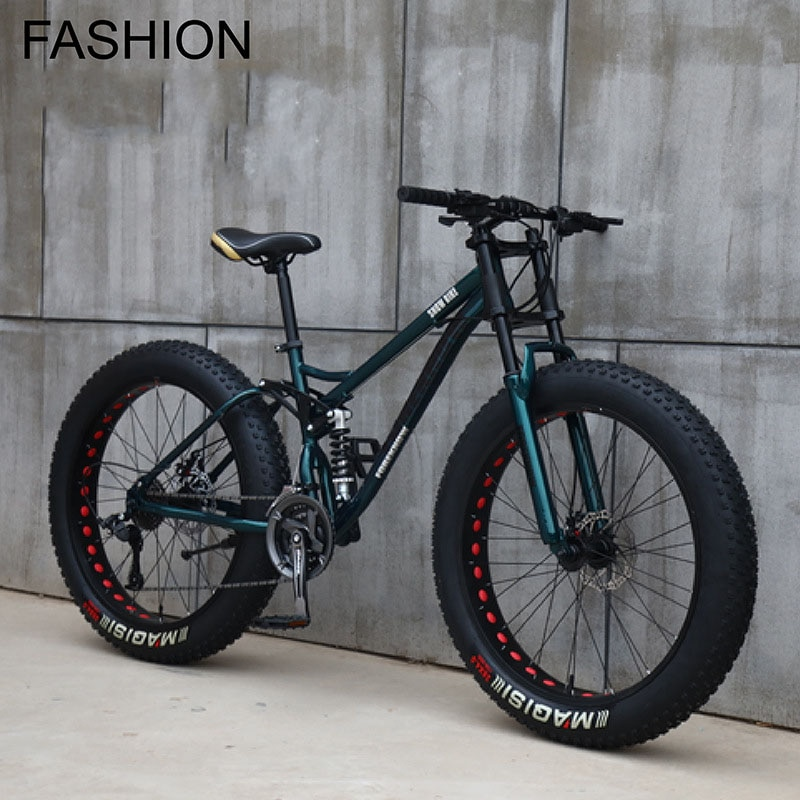 Multi-speed Cross-country 26inch Snow Bike Adult Extra wide 4.0 Large Tire Mountain Bike Male Female Cycling Students Bicycle 4