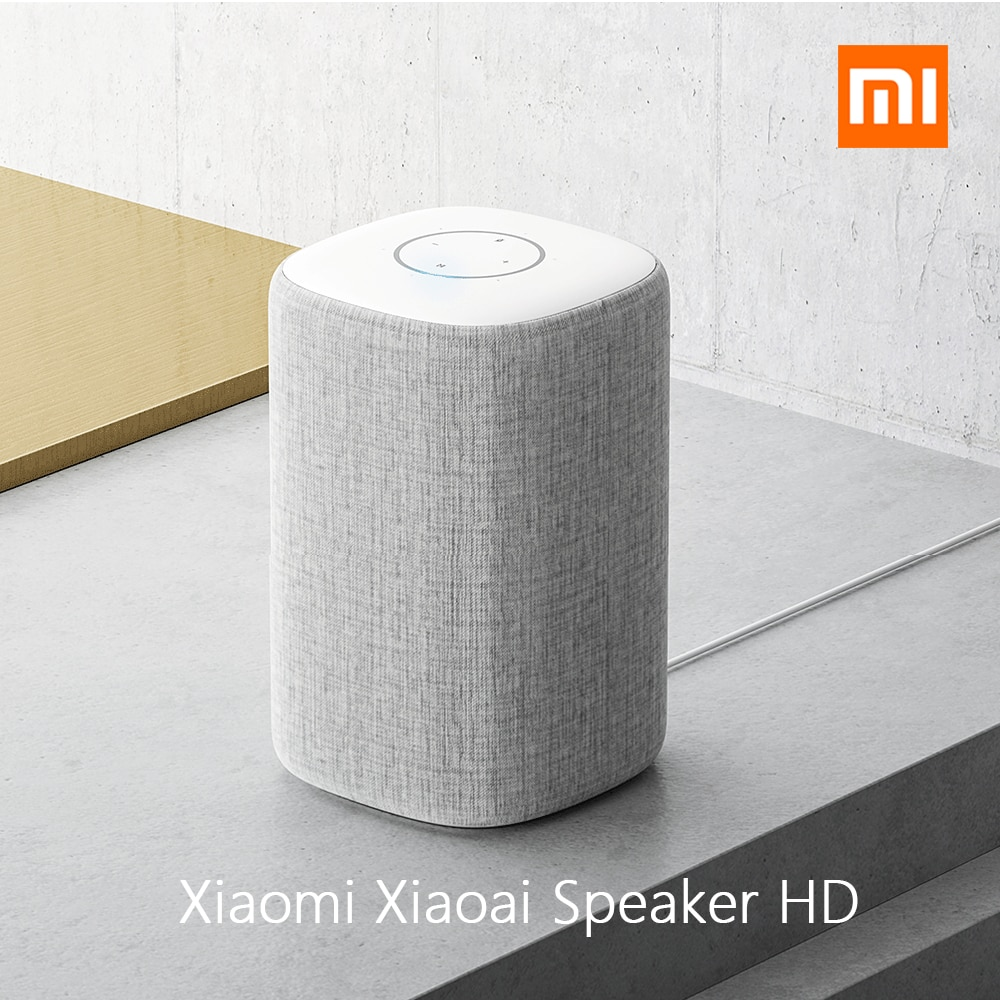 Original Xiaomi Xiaoai HD bluetooth Smart Speaker AI Bass 30W Subwoofer Music Player 360 Degree Surround Stereo Mic Subwoofer 3