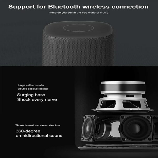 Original Xiaomi Xiaoai HD bluetooth Smart Speaker AI Bass 30W Subwoofer Music Player 360 Degree Surround Stereo Mic Subwoofer 4