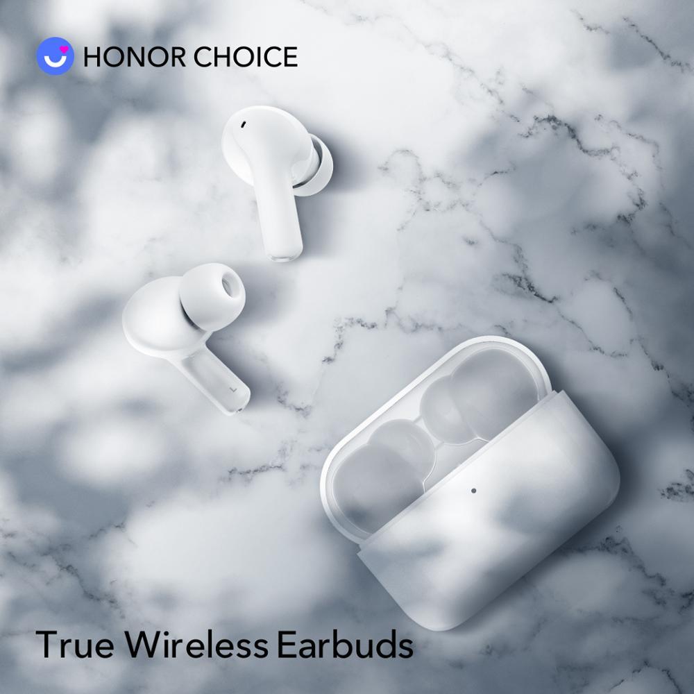 In Stock Honor Choice True Wireless Earbuds Wireless Bluetooth Earphone Bluetooth 5.0 Noise Reduction Earphone Dual-microphone 4